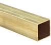 Brass C260 Square Tubing