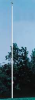 Flag Pole,Ground Mount,35 ft.,Aluminum -- 5JFA5