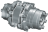 GERWAH™ Ring-flex™ Coupling with Short Spacer, Mounting with RINGFEDER Locking Assembly -- LHC