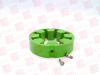 REXNORD 0789009 ( FLEX ELEMENT, FOR COUPLING, STANDARD, W/ FASTENERS, WRAPFLEX, R SERIES,GREEN ) -Image