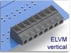 Fixed Terminal Block -- ELVM Vertical SMT Compatible Series -- View Larger Image