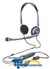Plantronics Stereo PC Headset with 3.5mm to USB Adapter -- DSP200