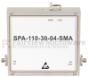 High Power GaAs Amplifier at 4 Watt P1dB Operating from 8.5 GHz to 11 GHz with 45 dBm IP3, SMA Input, SMA Output and 30 dB Gain -- SPA-110-30-04-SMA -Image