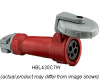 Service Outlet Watertight 480VAC 3+ 30A -- 78358540452-1
