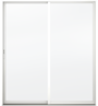Builders Florida Aluminum Sliding Patio Door - Image