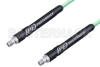 SMA Female to SMA Female Low Loss Cable 24 Inch Length Using PE-P142LL Coax, RoHS -- PE3C1239-24 -Image