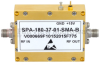 2 GHz to 18 GHz, Medium Power Broadband Amplifier with 1 Watt, 37 dB Gain and SMA -- SPA-180-37-01-SMA-B - Image