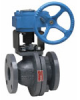 Full Port Cast Iron Flanged Ball Valve -- Series G-4000M1-GO