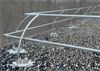 Non-Penetrating Guardrail System -- SafetyRail 2000 Architectural Series - Image