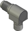 Honeywell General Aerospace Proximity Sensor, GAPS Series, Right angle cylindrical threaded form factor, 2,50 mm/3,50 mm range, 3-wire open collector output normally open, D38999/25YA98PA termination -- LGRTD3CB01-000 -Image