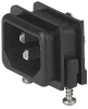 IEC Appliance Inlet C14 with Fuseholder 1- or 2-pole -- GSF1 - Image