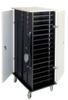 32 unit Netbook Charging Cart - Black/Gray Granite -- N-32-GG
