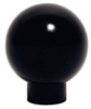 Phenolic Ball Knob with Shank, Brass Insert -- KD-1049 - Image