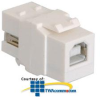 ICC USB Type A-to-B Female to Female Module -- IC107UABWH