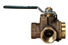Full Port Bronze Ball Valve -- Series B6781 - Image