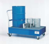 Spill Containment Cart,Drum,Blue -- 8RRW6