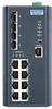 8GE+4G SFP L3 Managed Ethernet Switch, -40~75℃