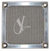 80mm Aluminum Mesh Fan Filter (Silver) -- 80326