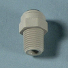 Acetal NPTF Male Pipe Connectors -- 58151