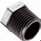 Par-Barb® Thermoplastic Fittings -- Hex Plug 318P - Image