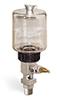 "(Formerly B1681-10), Single Feed Manual Lubricator, 9 oz Polycarbonate Reservoir, 3/8"" Male NPT -- B1681-0093B11W -- View Larger Image"