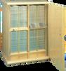 Model 2835 Micro Slide Cabinet