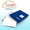 Sunset Bright Textured Fine Art Paper 310g- 13in x 19in -- BFAT131950