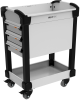 MultiTek Cart 3 Drawer(s) -- RV-DB33S3F104B -Image