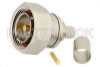 7/16 DIN Male Connector Crimp/Solder Attachment for RG214, RG9, RG225, RG393 -- PE4571 -Image