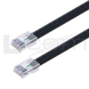Cat6a Outdoor Patch Cable, RJ45/RJ45, Black, 5.0 ft -- TRD695AOD-5