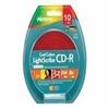 Memorex Cool Colors LightScribe - 10 x CD-R - 700 MB ( 80min -- 04538