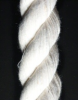 Twisted Cotton Blend, White Rope -- 10107