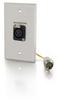 RapidRun® Single Gang XLR - Brushed Aluminum -- 2212-42339-001