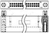 .050, .075, .100 Box Connectors -- 1-530752-1 - Image