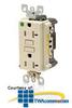 Leviton SmartLockPRO Duplex Receptacle 20 Amp, 125 Volt,.. -- T7899-HG0