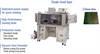 Seam Sealers and Lid Tack Micro Joining Welder -- In N2 gas Type/Semi-Automatic Type