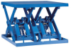 Double Wide Lift Table -- PEDW-9646 -Image