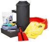 PIG Spill Kit in Truck-Mount Container -- KIT296