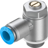 One-way flow control valve -- GRLA-3/8-QS-10-D -Image