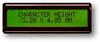 LCD Character Display Module -- ASI-E-202AS-GC-CS/W