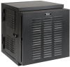 SmartRack 12U NEMA 12 Switch-Depth Wall-Mount Rack Enclosure Cabinet for Harsh Environments, Hinged Back -- SRW12USNEMA -- View Larger Image