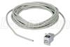 USB Type B Female Panel Mount Coupler / 5 Meter Cable -- ECF504-B-5M