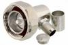 7/16 DIN Male Right Angle Connector Crimp/Solder Attachment For PE-C400, PE-B400, PE-B405, LMR-400, LMR-400-DB, LMR-400-UF -- PE44542 -Image