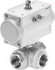 Ball valve actuator unit -- VZBM-A-11/2