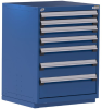 """Heavy-Duty Stationary Cabinet , 7 Drawers (30""""W X 21""""D X 40""""H) -- R5ADD-3806 -- View Larger Image"""