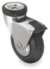 Hollow Kingpin Swivel Caster,15/16
