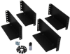 2-Post Rack-Mount Installation Kit of 3U and Larger UPS, Transformer and Battery Pack Components -- 2POSTRMKITHD - Image