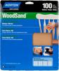 Norton WoodSand Garnet Medium Grit Paper Sheet -- 7660747990 -Image