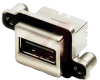 connector,usb receptacle,single port,vertical,pcb mount -- 70144950 - Image