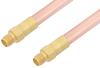 SMA Female to SMA Female Cable 36 Inch Length Using RG401 Coax -- PE3521-36 -Image